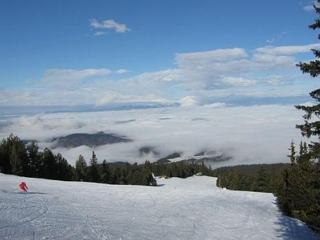 Mount Chumerna - a 750-meter track with ski lift  and a ski-wardrobe.